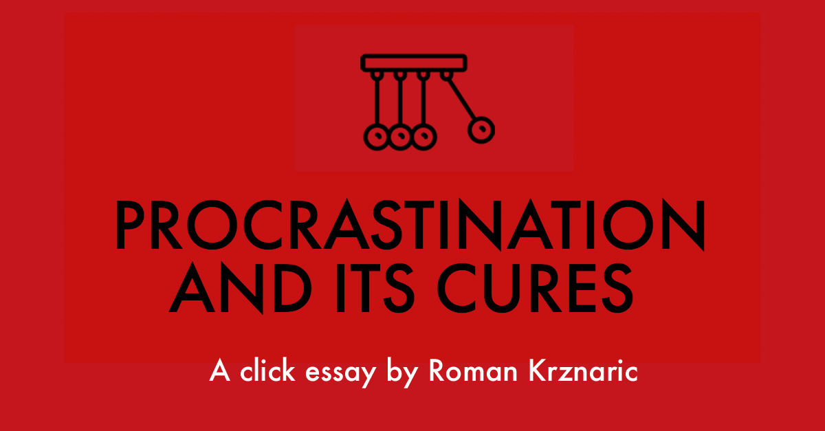 procrastination effects essay